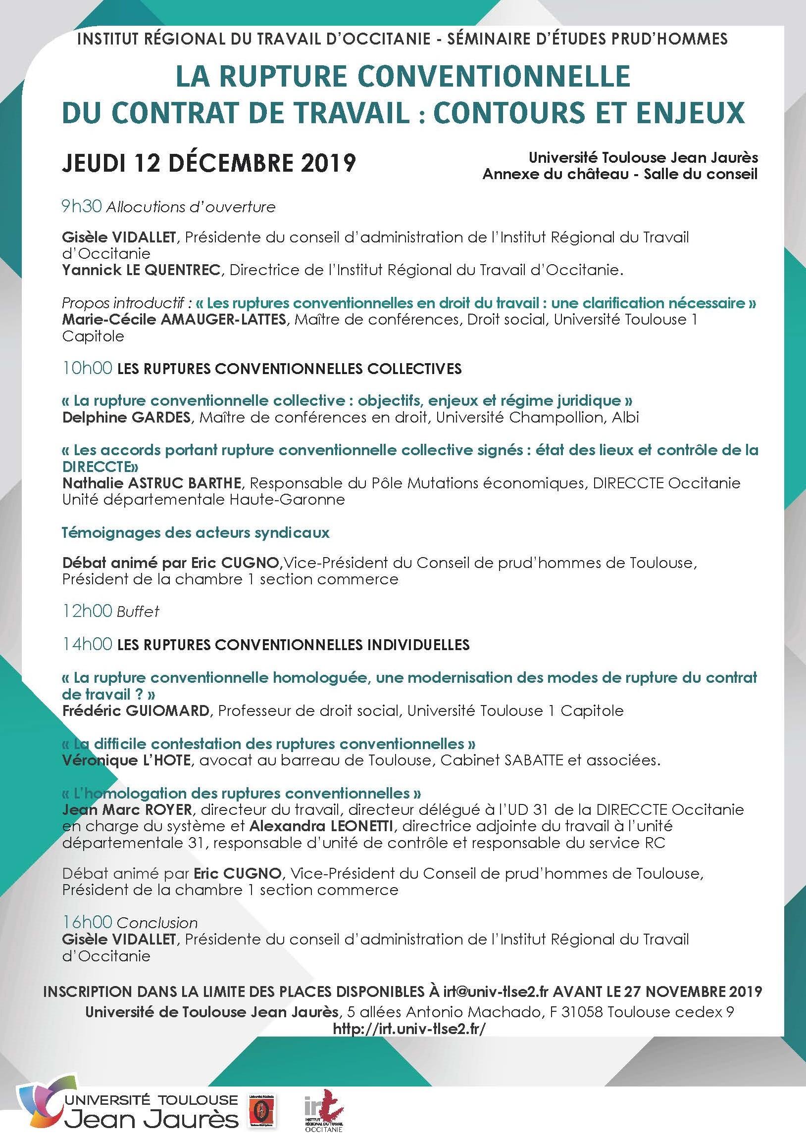 Flyer séminaire CPH 2019